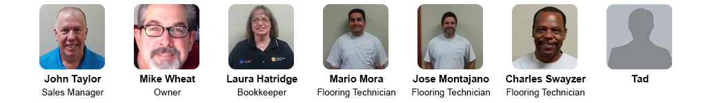 Our Team - Carpet World Pasadena, Texas