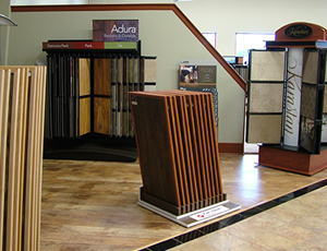 Carpet World showroom